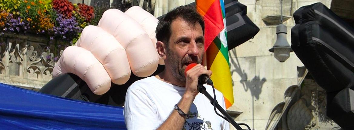 Thomas Lechner Rede beim Antikriegstag 2019